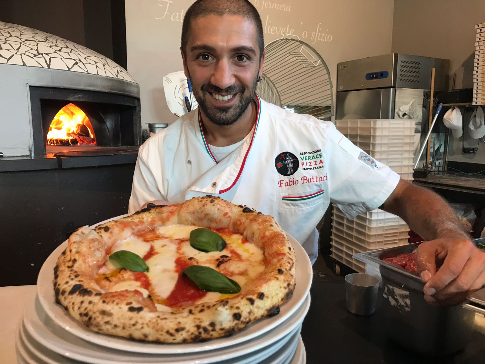 Chef Pizzaiolo Buttaci